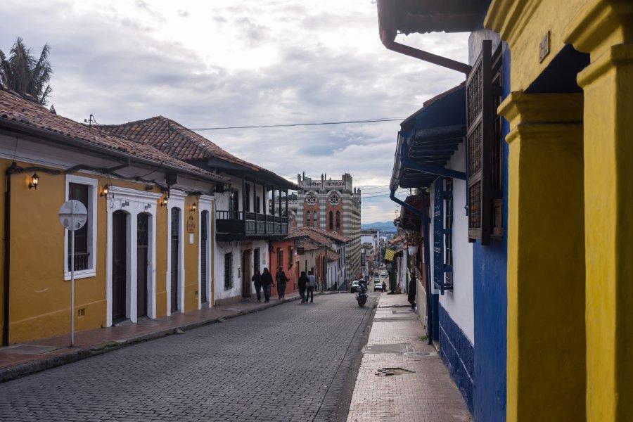 Quartier de La Candelaria à Bogota, Colombie