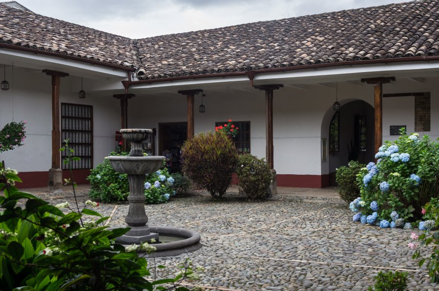 Patio de Popayán, Colombie