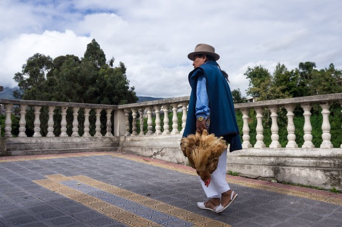 Village indigène d'Otavalo, Équateur