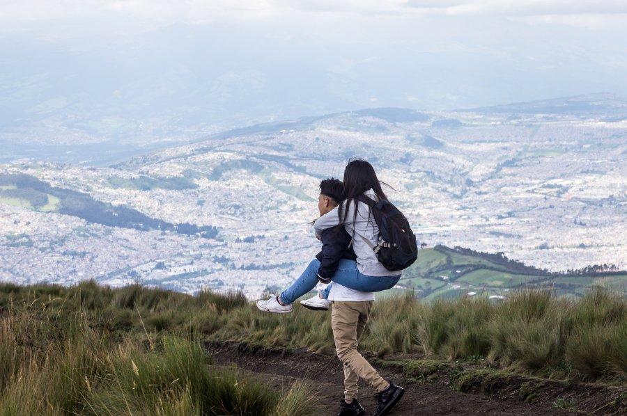 Promenade sur les hauteurs de Quito