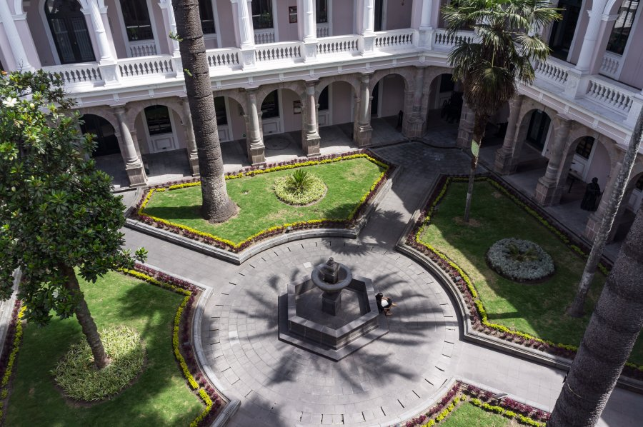 Patio du Centro Cultural Metropolitano, Quito