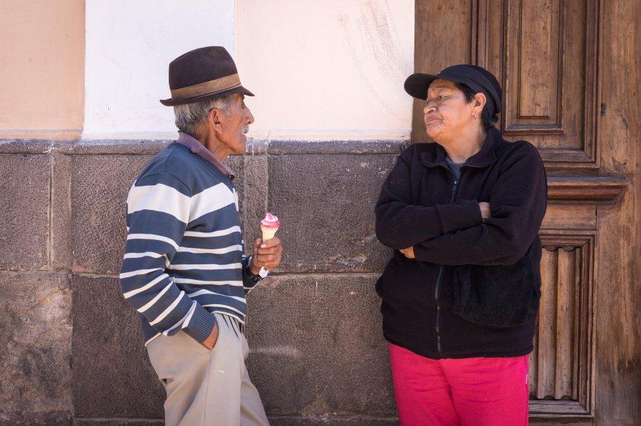 Glaces à Quito, Équateur