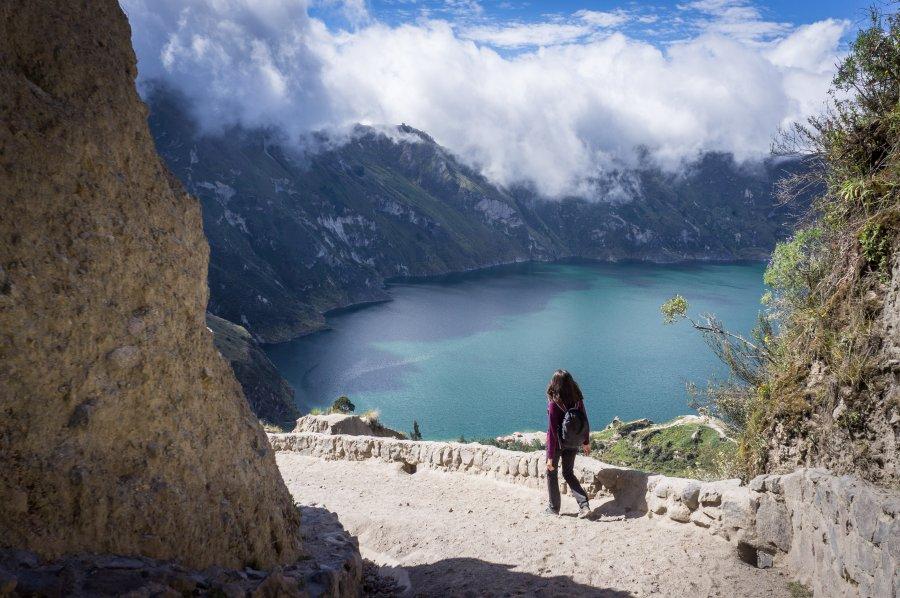 Lac de Quilotoa, Équateur