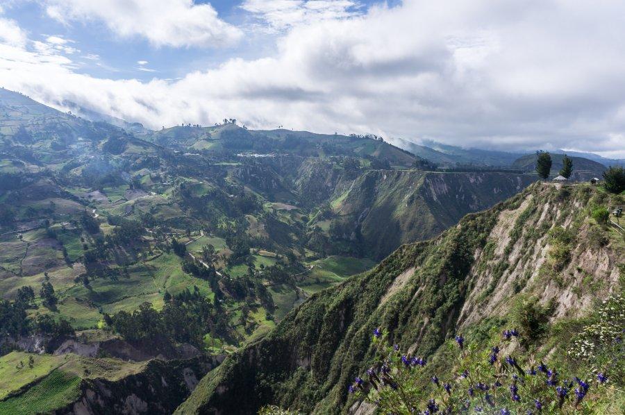 Canyon du Rio Tachi, Chugchilan, Équateur