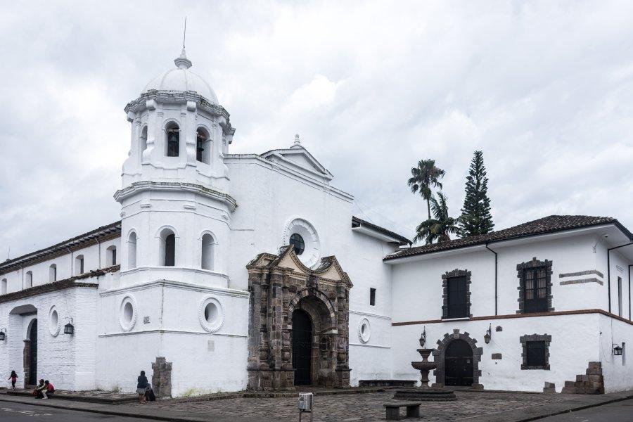 Ville de Popayán, Colombie
