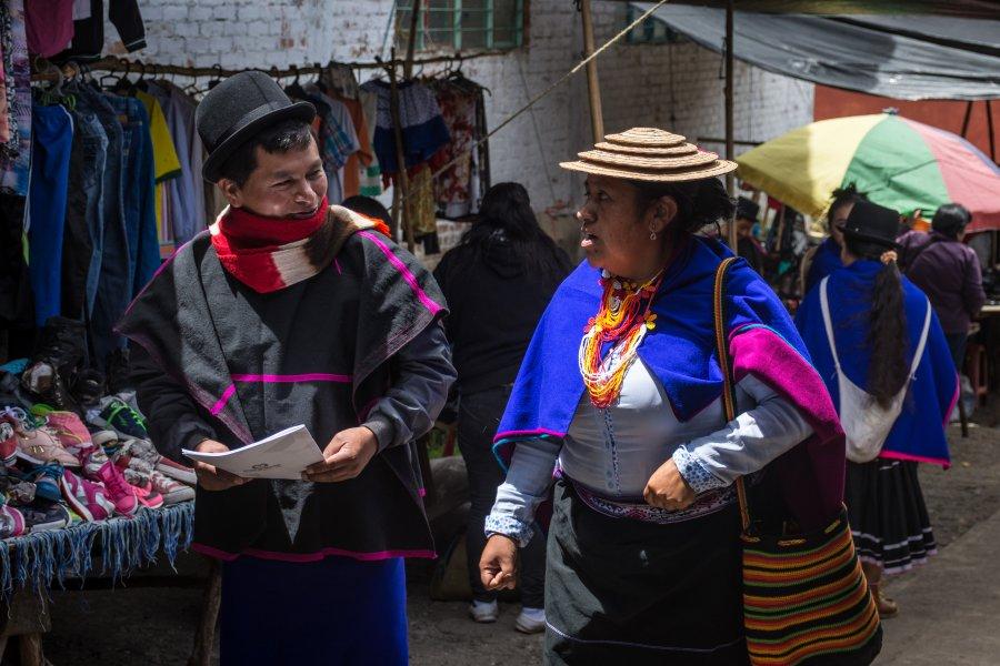 Marché indigène de Silvia, Colombie