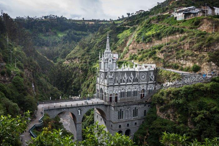 Sanctuaire de Las Lajas, Ipiales, Colombie