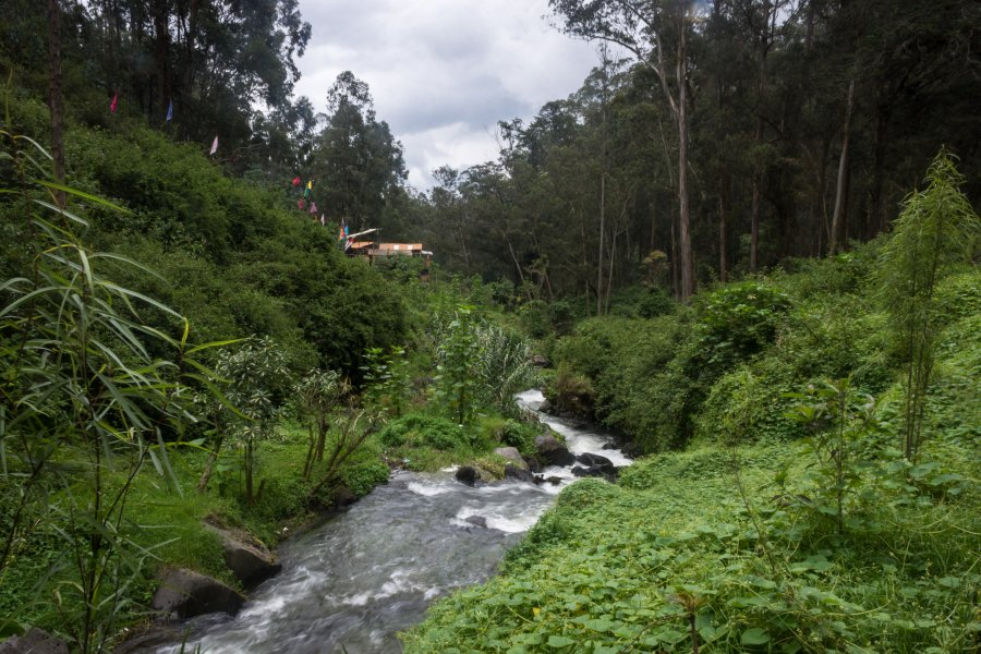 Cascade de Peguche, Otavalo, Équateur