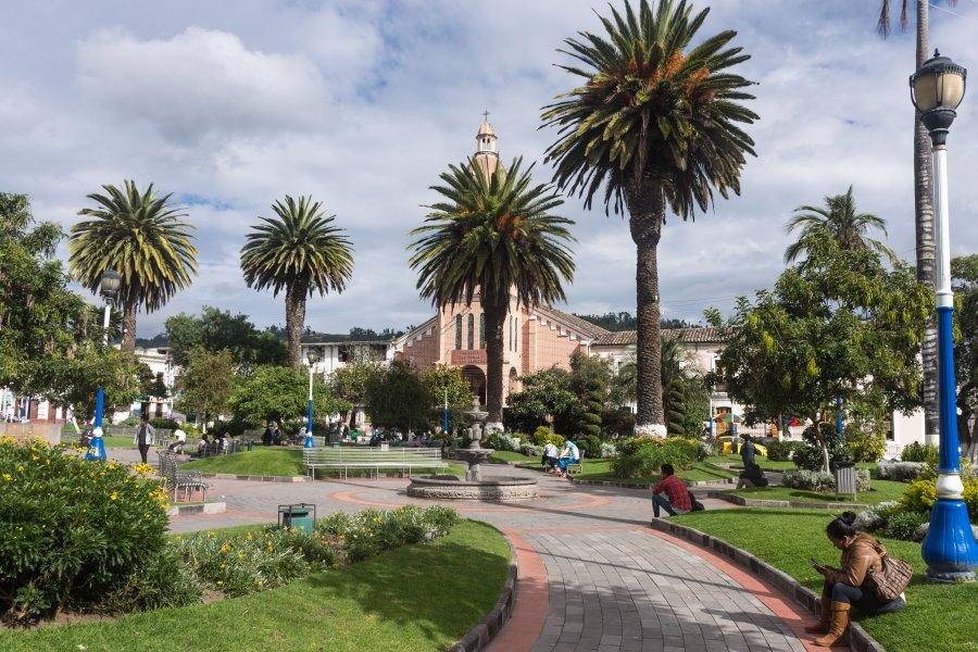Ville d'Otavalo, Équateur