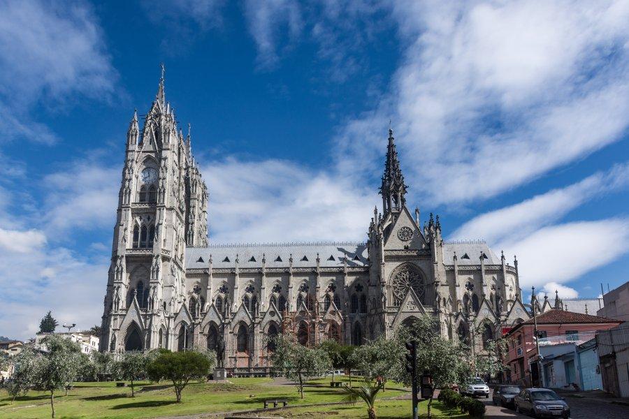 Basilica del voto nacional, Quito, Equateur