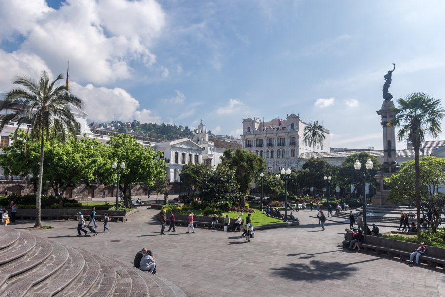Plaza de la Independencia, Plaza Grande, Quito