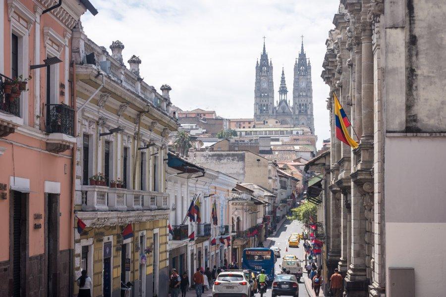 Ville de Quito, Équateur