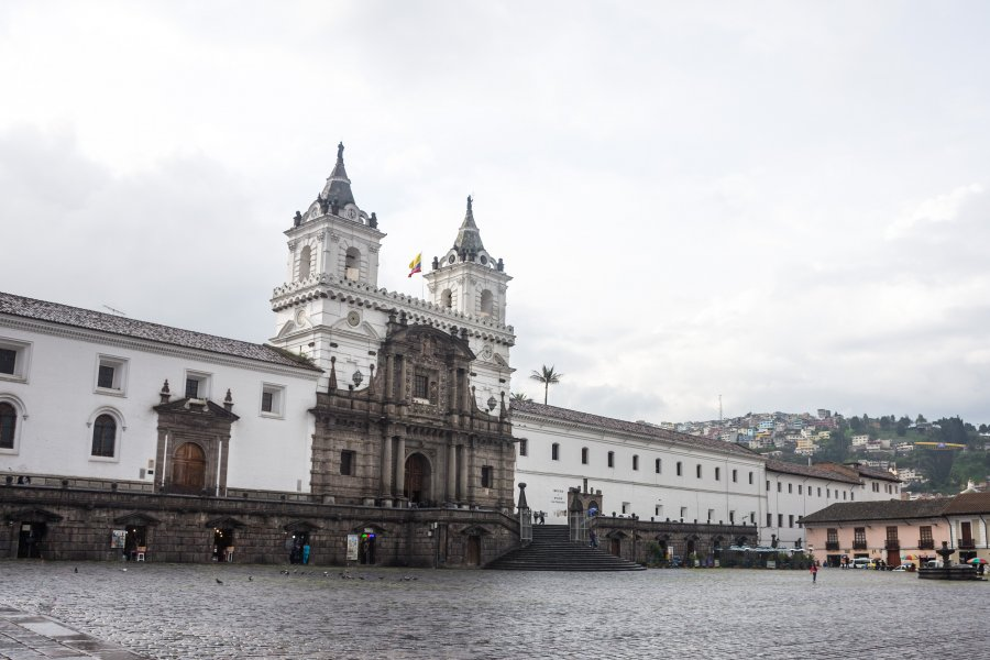 Église de San Francisco, Quito, Equateur