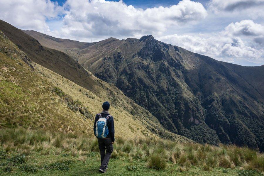 Randonnée près du volcan Pichincha, Quito