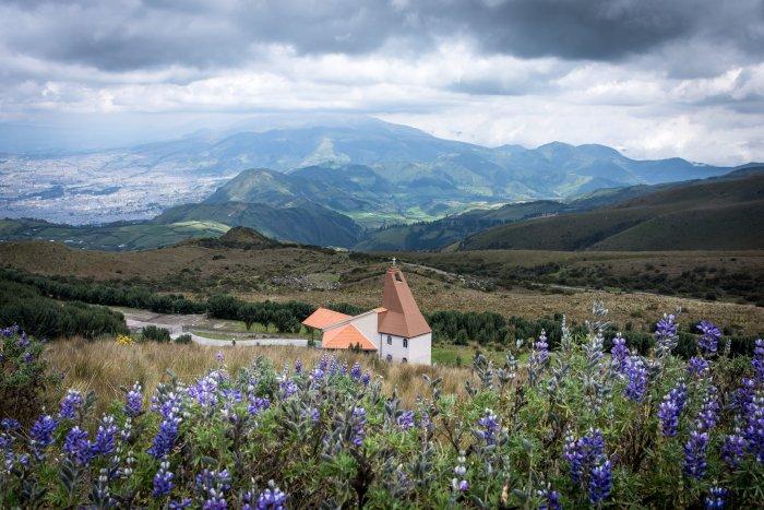 Sur les hauteurs de Quito, Équateur
