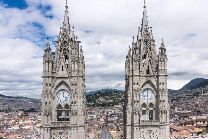 Basilique de Quito, Equateur
