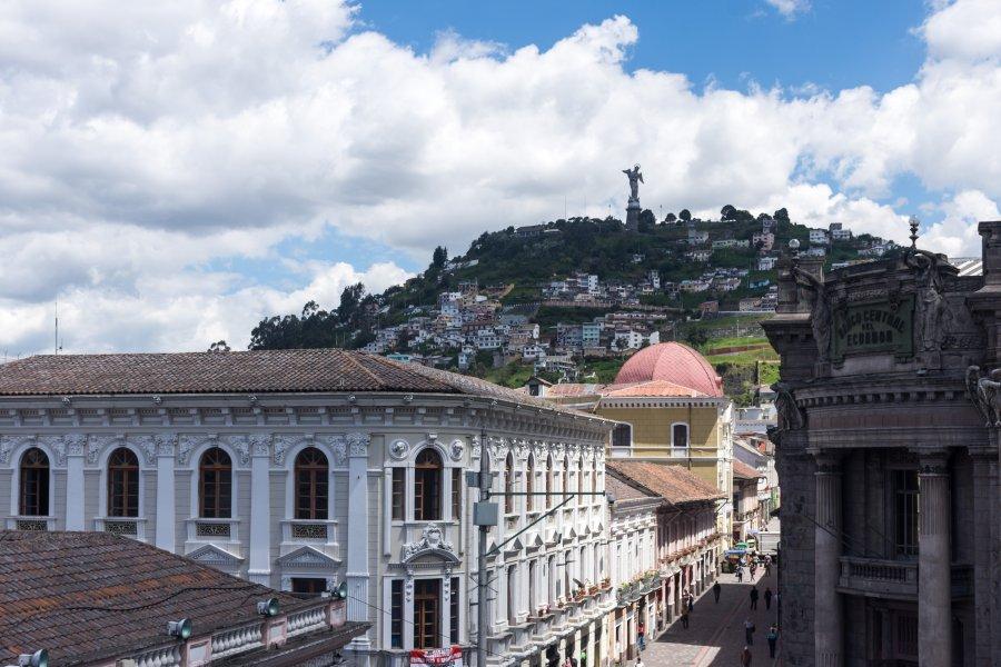 Vue sur Quito et le Panecillo