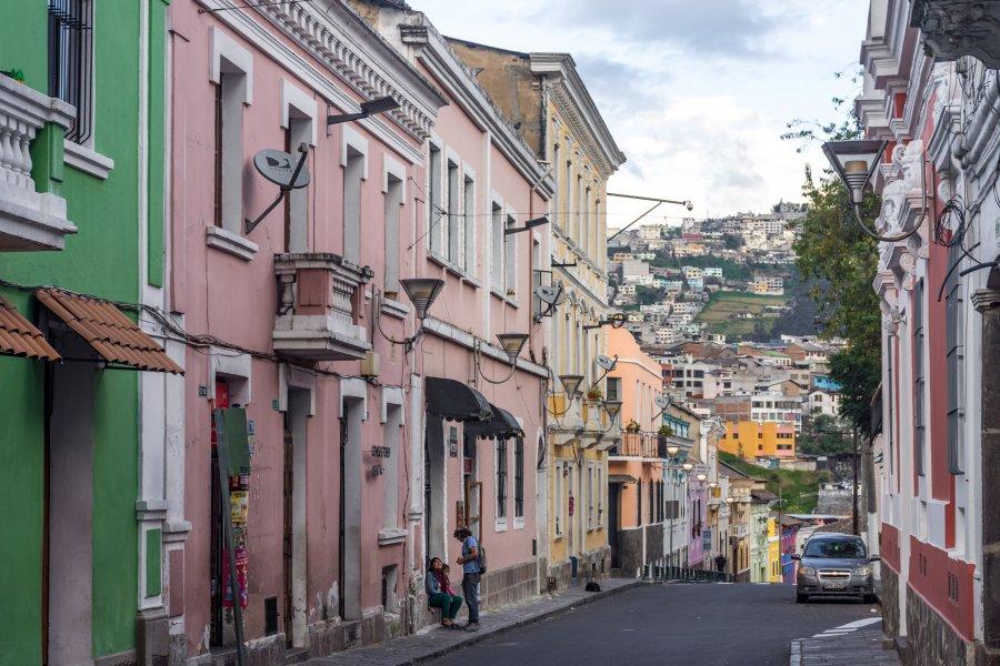 Rue Junín, Quartier San Marcos, Quito