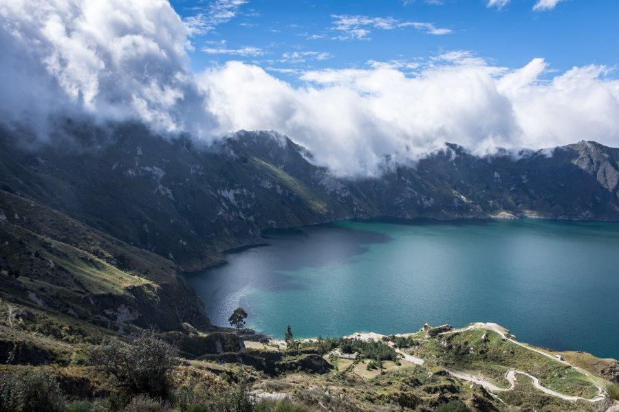Lagune de Quilotoa, Équateur