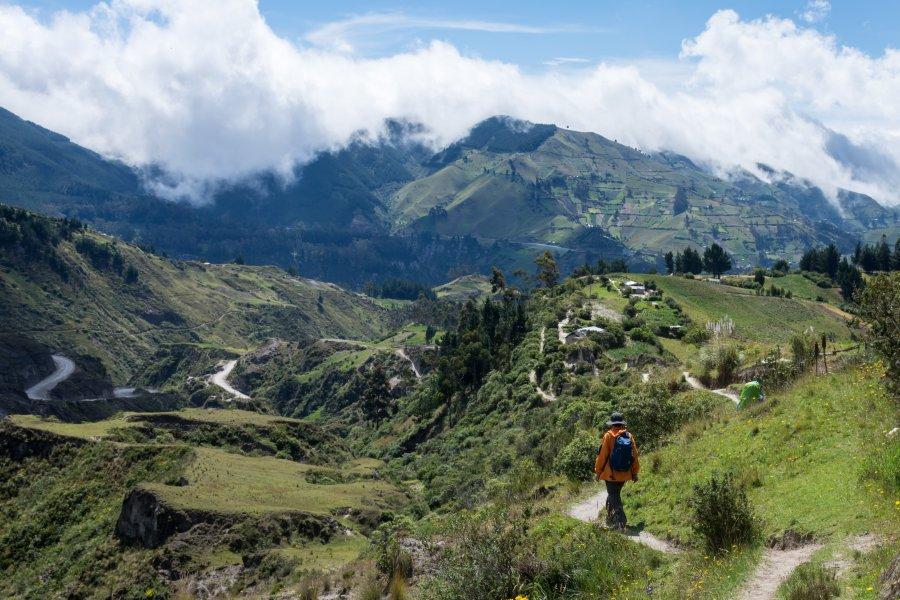 Randonnée entre Quilotoa et Chugchilan