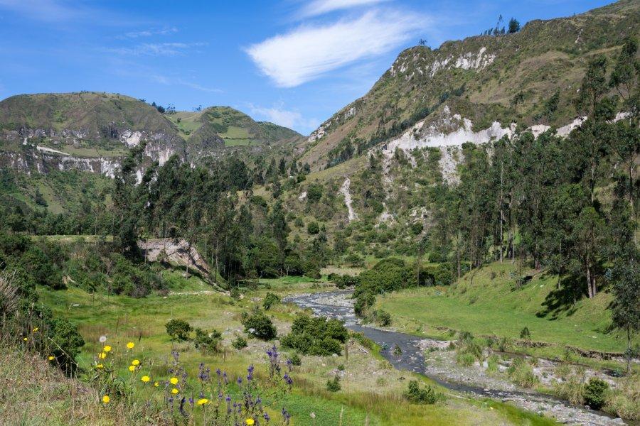 Randonnée entre Isinlivi et Sigchos, Equateur