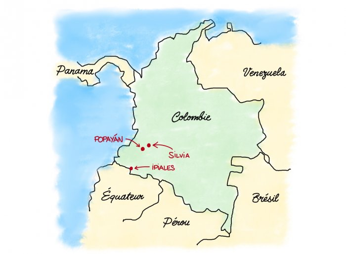 Popayán Silvia Et Ipiales Tout Au Sud De La Colombie