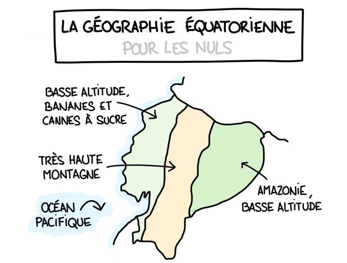 Carte : la géographie de l'Équateur pour les nuls