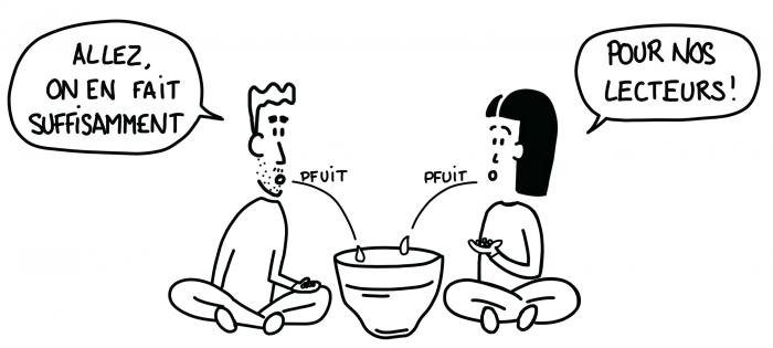 Dessin : production de chicha