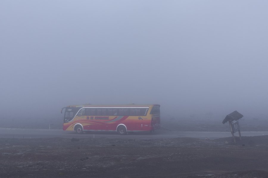 Bus pour le Chimborazo