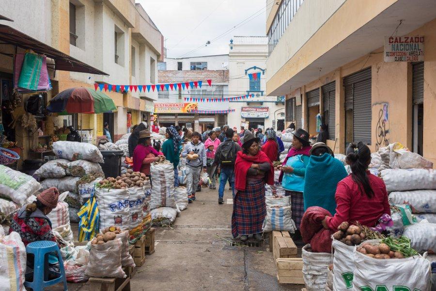 Mercado Santa Rosa, Riobamba