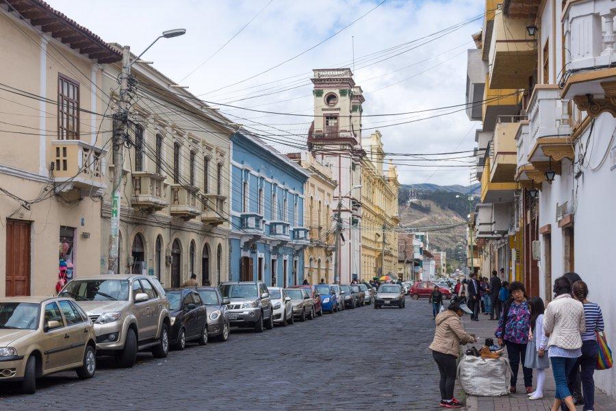 Ville de Riobamba, Équateur