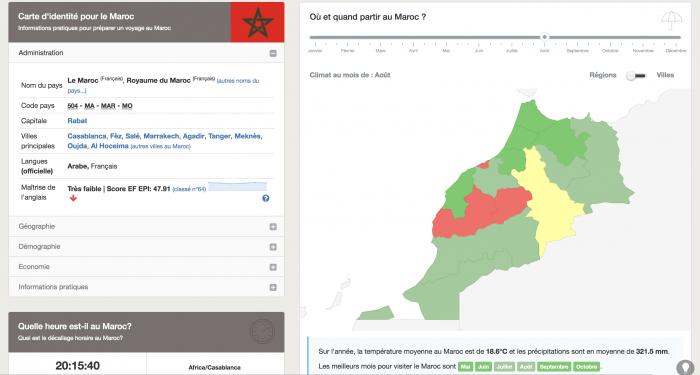 Planificateur Maroc