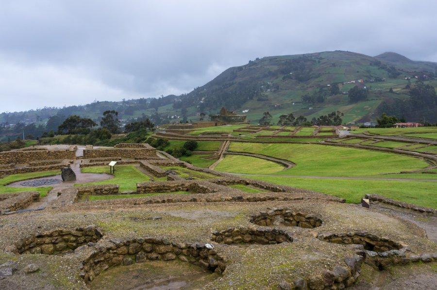 Ruines d'Ingapirca, Cañar, Équateur