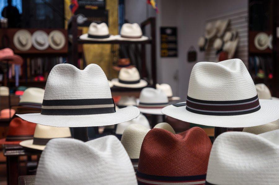 Chapeaux de Panama, Cuenca, Équateur