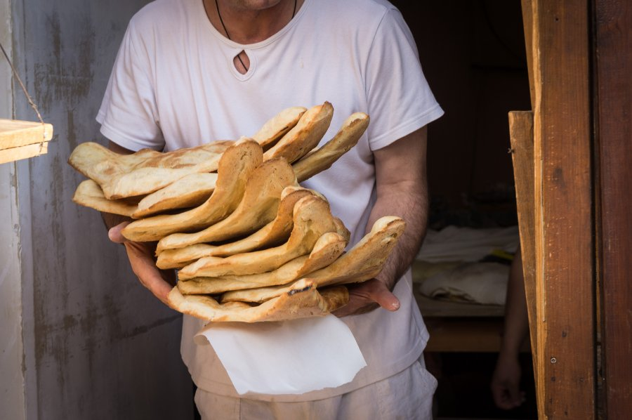 Puri, pain géorgien