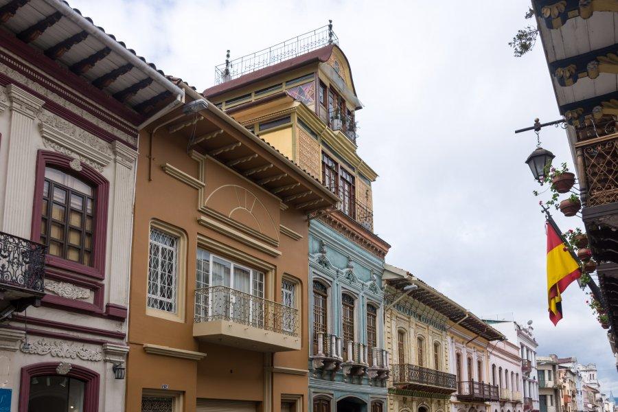 La route française de Cuenca, Equateur
