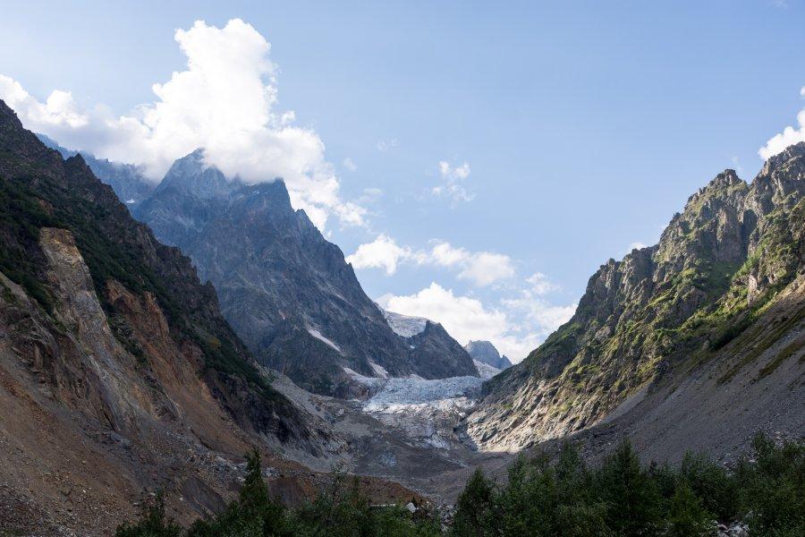GlacierChalaadi, Mestia, Géorgie