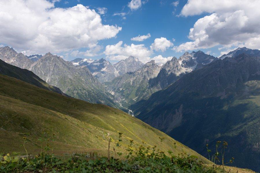 Montagnes de Mestia, Svanétie, Géorgie