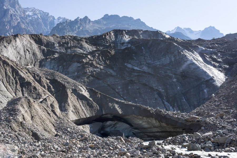 GlacierShkhara, Ushguli, Géorgie
