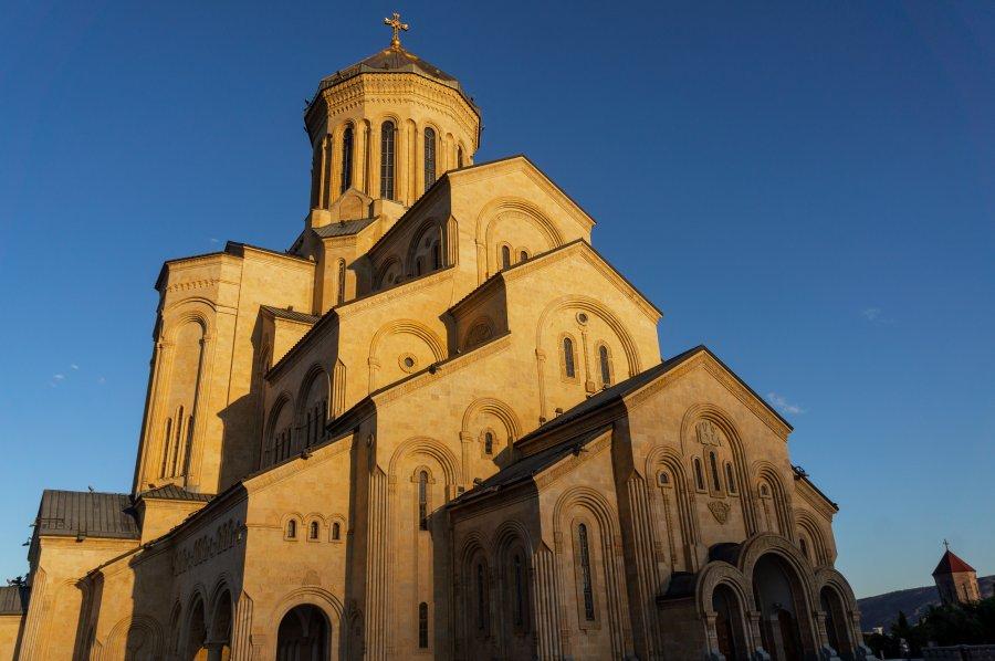 Cathédrale de la Trinité de Tbilissi, Géorgie