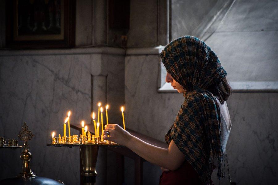 Eglise orthodoxe de Tbilissi, Géorgie