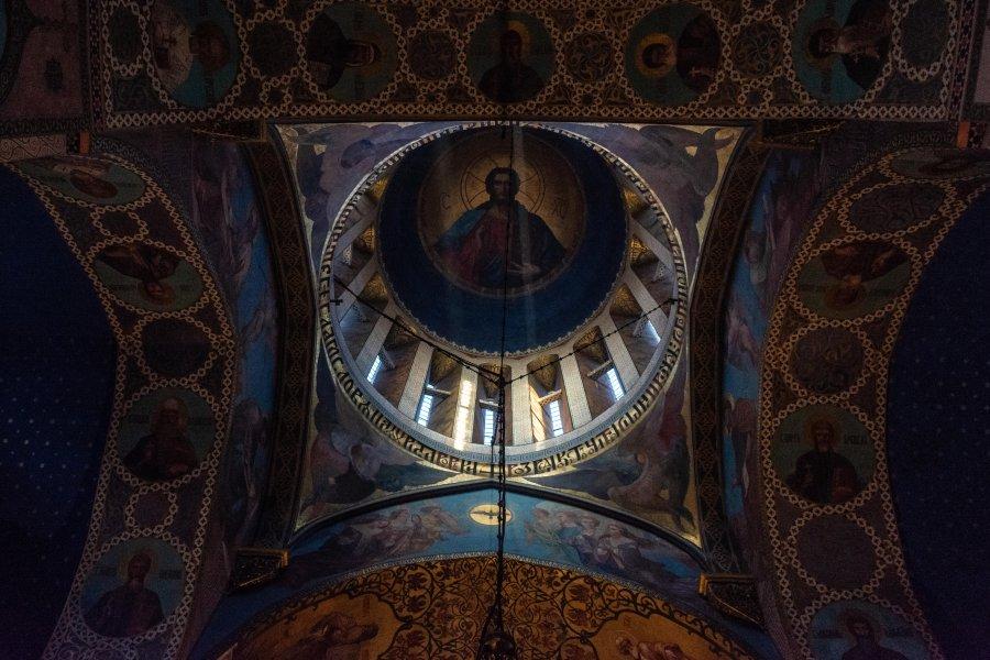 Intérieur de la cathédrale Sioni, Tbilissi