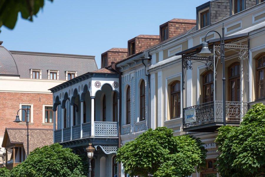 Rue Davit Aghmashenebeli, Marjanishvili, Tbilissi