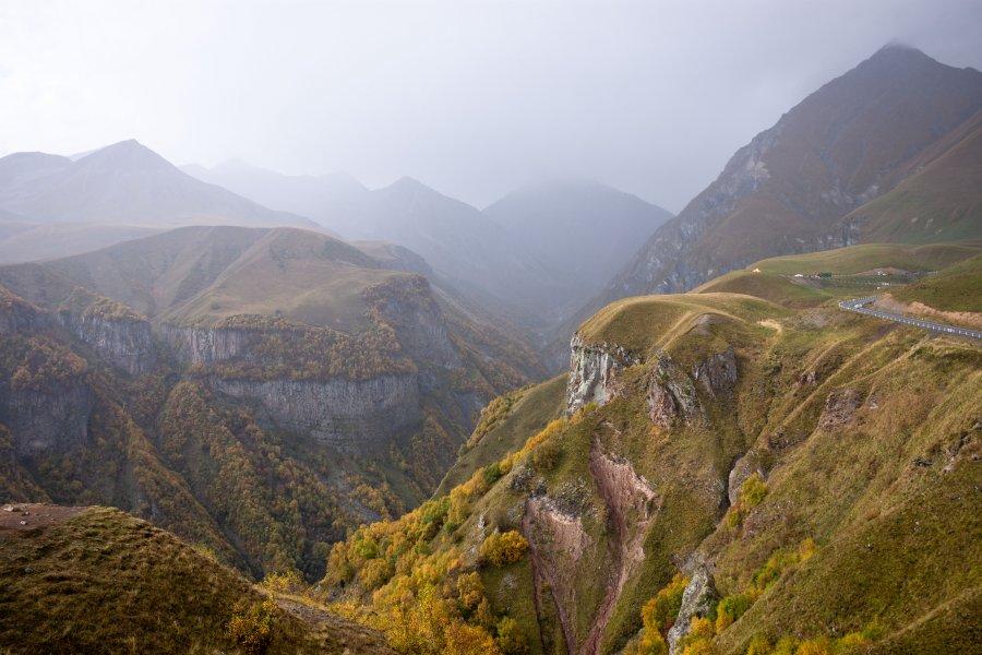 Montagnes de Géorgie, Gudauri, Kazbegi