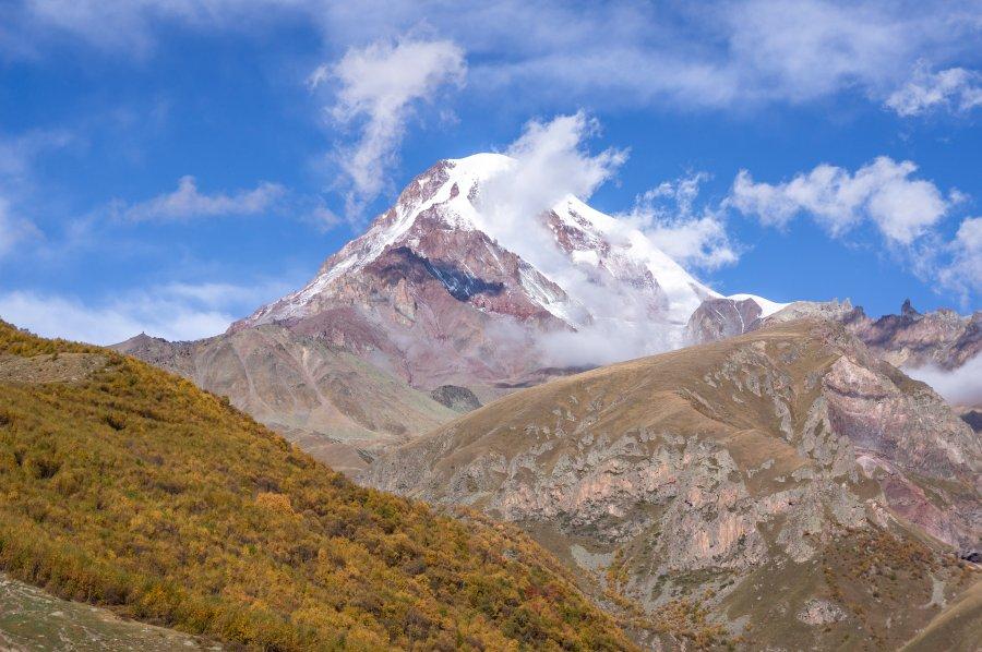 Volcan Kazbek, Kazbegi, Géorgie