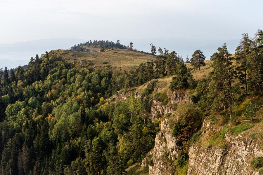 Randonnée sur le Panorama trail, Borjomi, Géorgie