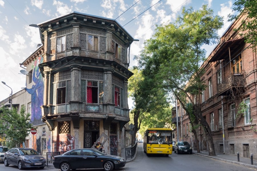 Quartier Marjanishvili, Tbilissi, Géorgie