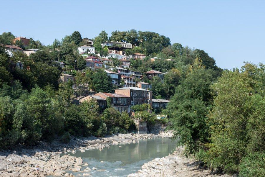Rivière de Koutaïssi, Géorgie