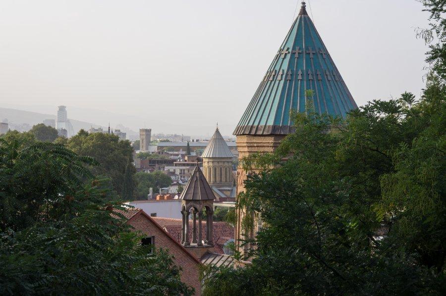 Toits de Tbilissi, Géorgie