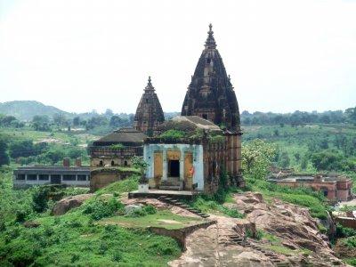 Temples à Orchha, Inde